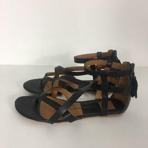 Dolce Vita Black Strapy Sandals